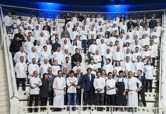 7 celebrity Catalan chefs celebrate the European Region of Gastronomy 2016