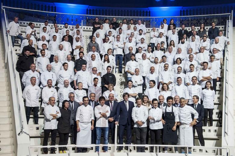 7 celebrity Catalan chefs celebrate the European Region of Gastronomy 2016