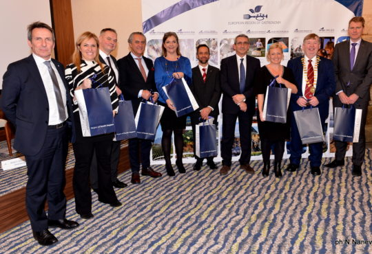 Passing the Baton – European Region of Gastronomy 2016-2017 Hand-Over Ceremony
