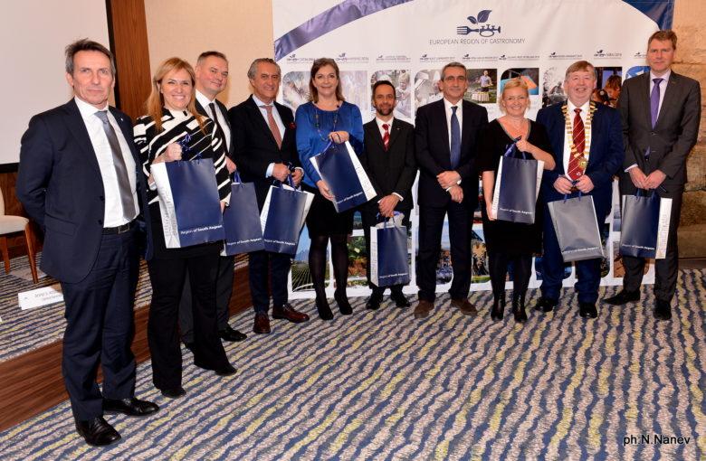 Passing the Baton – European Region of Gastronomy 2016-2017 Hand-Over Ceremony